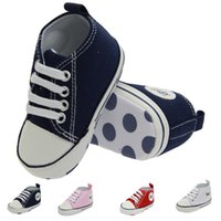 Wholesale luxury fashion brand baby shoes baby girl shoes casual and comfortable baby toddler shoes bebe US size top quality dn207