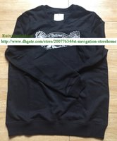 Wholesale Brand Style High Quality New Fashion Women Embroidery Tiger Streetwear Men Pullover Lovers Thin Sweatshirts