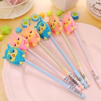 baby pen favors - 12PCS Baby shower favors girl boy candy color Owl style neutral Pen kids birthday party supply gift souvenirs
