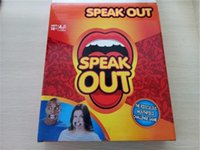 Wholesale Hottest Speak Out Board Game KTV party game cards for party Christmas gift newest best selling toy