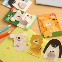 Wholesale Animal Parents and Kids Type Paste Sticky Notes Bookmark Marker Memo Flags E00060 ONET