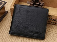 Wholesale GUBINTU man head layer cowhide wallet Magnetically interlayer RFID WALLET purse signal shielding function