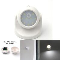 animal motion detector - Security LED Led Motion Sensor Night Light Degree Rotation Children s Nightlight Auto PIR IR Infrared Detector Lamp