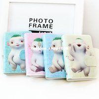 Wholesale Children S Banks Gifts - free shipping Cartoon cartoon cute card package sets of PU leather creative children 's bank card small gifts