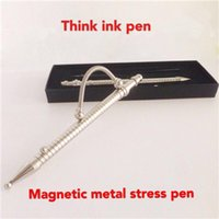 Wholesale 34yx Creative Metal Think Ink Pen Reduce Pressure Fidget Pens Decompression Toy Anxiety Autism And ADHD Children Focus Keep Hands Busy Gift