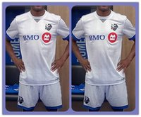 Wholesale Top Uniforms Kit Montreal Impact Camara Oduro Bernier Piatti Duka Soccer Jersey White Jerseys Shirts Clothes