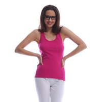 Wholesale Women Ladies Bodycon Tank Tops Racer Back Sleeveless Cotton Vest One size Fits Most