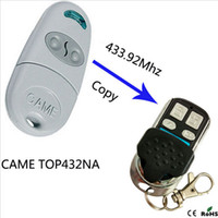 Wholesale Copy CAME TOP432NA Duplicator mhz remote control Universal Garage Door Gate Fob Remote Cloning mhz Transmitter