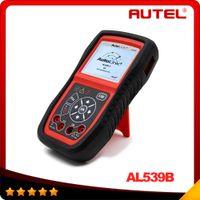 advanced system car - 100 Original AUTEL AutoLink AL539b OBDII and Electrical Test Tool with AVO Meter advanced AL539 Car Scan Tool DHL