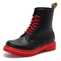 Wholesale Fashion men High quality Men Women Genuine Leather street Riding shoes Motorcycle Boots motorbike Martin Boots motorcycle gear