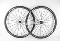 Wholesale With Novatec A291 Hubs mm width White Hollow logo FFWD mm carbon bike Wheels F4R mm road bike carbon wheels