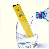 Wholesale 2016 Portable Pocket Pen Water PH Meter Digital Tester Quality Measure Range pH for Aquarium Pool Water Laboratory Soil
