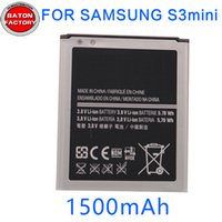 Wholesale Battery for samsung Galaxy S4mini Witn S4mini Cellphone Lithium Battery For B500AE hight quality new