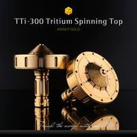 Wholesale Hot Sale from the Inception Movie Spinning Top with Titanium alloy silver TTi Titanium Spinning Top Tritium Version