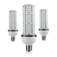 Wholesale High End LED corn light bulb watt E26 E27 E39 E40 screw base high bay canopy light Lm W CFL HID replacement AC100 V