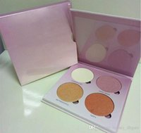 Wholesale Glow Kit Dropshipping highlighter eyeshadow palettes makeup palet Powder Face cosmetic Gleam Sun Dipped Sweets Moon Colors retail