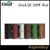 18650 battery balance - Eleaf iStick QC W Mod QC BOX Mod mAh Built in Battery Cell Balancing Trickle Charge System Match with Melo Tank Authentic