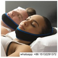 Wholesale anti snore stop snore belt chin strap stop snoring chin support belt sleep device color choice