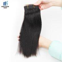 1 Bundle 100g Mink Brazilian Hair Bundles Color 1B Natural Negro Seda Brasileña Straight Cuerpo Onda Rizado Profundo Remy Humanos Cabello Tejido Bundles
