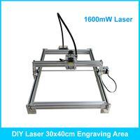 Wholesale 1 w laser carving mw cm area mini DIY laser engraving machine IC marking laser printer carving work ship by DHL