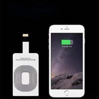 Wholesale in Wireless chargers Qi Wireless Power Charger Charging Receiver For Apple Iphone plus s