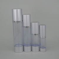 airless spray pumps - Cosmetic lotion airless pump pet bottle plastic hard squeeze vacuum sterilizing plastic spray pump bottle cramping tube nozzle for e liquid