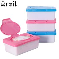 baby wipe holder - Plastic Wet Tissue Automatic Case Real Tissue Case Baby Wipes Box Press Pop up Design Home Tissue Holder Accessories