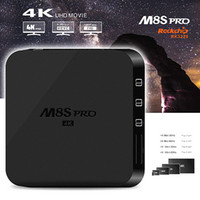 android g box - M8S pro K RK3229 Android Kodi TV Box Support DLNA Google TV Remote M Lan D Moive b g n Wifi IPTV Boxes