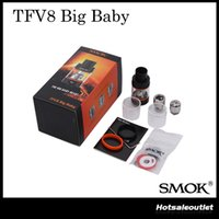 big bigger - Authentic Smok TFV8 Big Baby Beast Tank with ml Bigger e Juice Capacity Adopts V8 Baby X4 Core V8 Baby T6 Core DHL Free