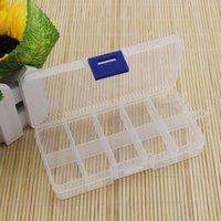 Wholesale Practical Adjustable Plastic Compartment Storage Box Case Bead Rings Jewelry Display Organizer Container ToolBox mm