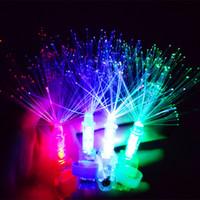 big ring racing - The finger ring lamp light fiber Yiwu bright LED light concert cheer props toys