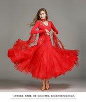 Wholesale Modern dress Ballroom dance dress skirt match Fashionable dress Latin dance skirt