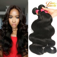 Wholesale Factory Brazilian Virgin Hair Body Wave Mink A Unprocessed Brazilian Body Wave Human Hair Cheap Brazilian Hair Bundles Natural Color B