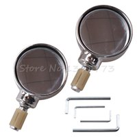 Wholesale Motorcycle Chrome Bar End Circinal Rearview Rear View Mirrors