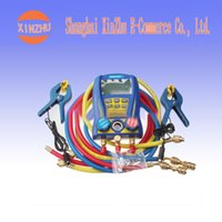 Wholesale New Digital Testing Manifolds Refrigeration Pressure Vacuum Gauge WK