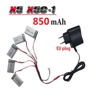 aircraft plugs - Unmanned aircraft mAh V LiPo Battery Euro Plug AC Charger for SYMA X5C X5C X5 X5SC X5SW H9D H5C RC Drone Quadcopter Spare Battery