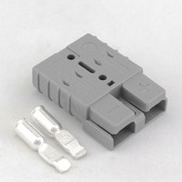 al por mayor poder de anderson-Venta al por mayor-SB 50A 600V enchufe del conector de alimentación de batería origianl Anderson 2pcs en un paquete