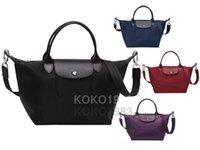 Wholesale Top quality Women Nylon Shoulder Bags Vintage Women s Tote Bag Waterproof travel bag fashion handBags colors