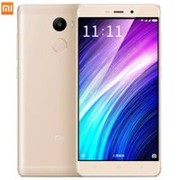 al por mayor china rice-Original Xiaomi Redmi 4 2 GB RAM 16 GB ROM Snapdragon 430 arroz rojo 4 5,0 pulgadas 4100mAh 13.0MP Redmi4 Teléfonos móviles