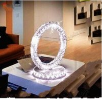 atmosphere decor - Modern Europe LED crystal lamp stylish decor living room study bedroom bedside table lamp Upscale atmosphere MYY