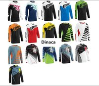 Wholesale The New Thor Outdoor Long Sleeved Mountain Bike Cross country Motorcycle Speed To A Variety of DH T shirt