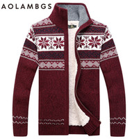 Pullover afs fashion - Men Sweater Fashion Autumn Winter Wool Cardigan Men s Casual Thick Warm Sweater Male AFS JEEP Knitting Sweter Hombre M XL