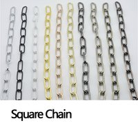 bamboo paper lanterns - The chain connecting buckle buckle festive paper bamboo lanterns Lamps lighting fittings DIY essential square chain