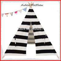Wholesale Hot Sale Eco Friendly Kids Teepees Kids Play Tents Polyester Cotton