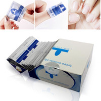 Wholesale Nail polish remover nail cleaner wraps high quality Women Nail Art Kit Easy Use uv gel remover Tools ZA2345