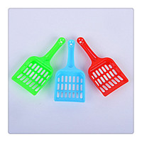 Wholesale 2017 New Pet Litter Scoop Sifter with Deep Shovel Design for Pets Cat Dog Durable Plastic Scooper with Ecnomic Price Pet Cleaning Supplies