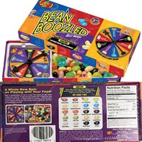 bean boozled spinner - 100g Jelly Candy Belly Bean Boozled Bean Boozled Spinner Gift Box Bin Buzld Candy Harry Potter Beans