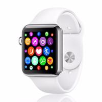 al por mayor relojes de realizar un seguimiento de los niños-1 pcs W51 IWO Smart Watch Pista de ritmo cardíaco del dispositivo portátil Passometerfor IOS Bluetooth Smart Phone PK KW88 Productos