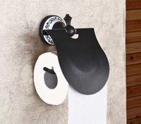 Wholesale Ceramic Deco Toilet Roll Paper Holder Oil Rubbed Bronze