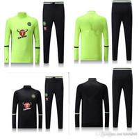 Wholesale Chelsea Training Suits Chandal training suit Uniforms shirts Chelsea Maillot de Foot Survetement football jerseys Sports pants